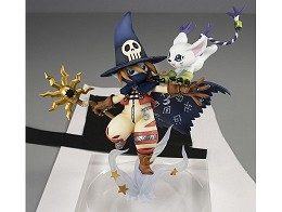 Estatua Digimon Adventure - Tailmon & Wizardmon