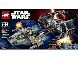 LEGO Star Wars 75150 Vader's TIE Adv vs A-Wing Sf