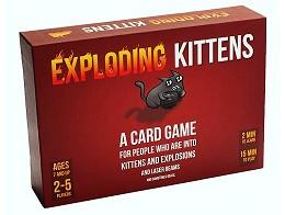 Exploding Kittens Juego de Mesa (inglés)