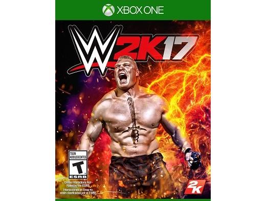 WWE 2K17 XBOX ONE Usado