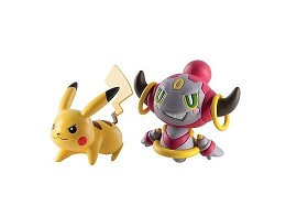 Figura Pokémon Action Pose Pikachu Hoopa Confined