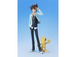 Estatua Taichi Agumon Digimon Adventure Tri