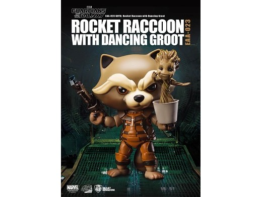 Estatua Rocket Raccoon Guardians of the Galaxy