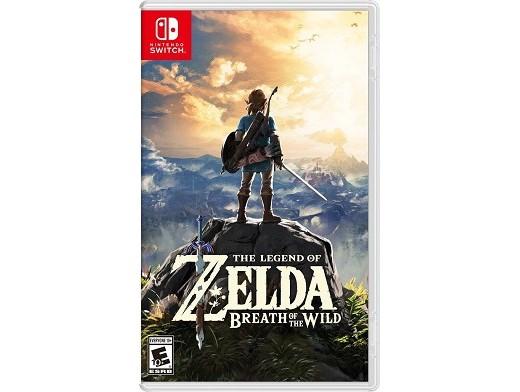 The Legend of Zelda: Breath of the Wild NSW Usado