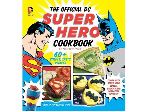 Official DC Super Hero Cookbook (ING) Libro