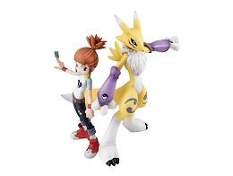 Estatua Digimon Tamers Makino Ruki Renamon G.E.M.