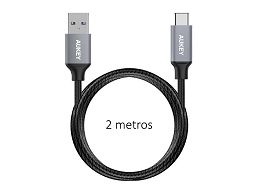 Cable USB-C a USB 3.0 AUKEY 2 metros