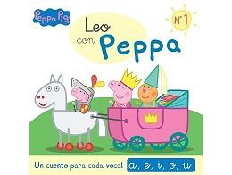 Leo con Peppa 1 Un cuento cada vocal (ESP) Libro