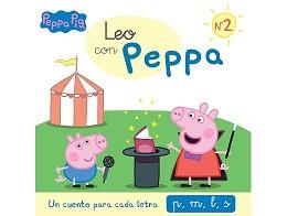 Leo con Peppa 2 Cuento para cada letra p,m,l (ESP)
