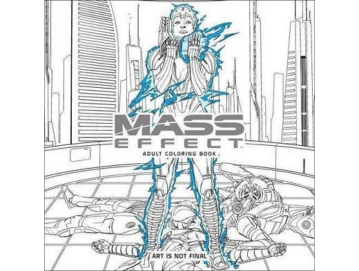 Mass Effect Adult Coloring Book (ING) Libro