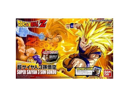 Model Kit Goku Super Saiyan 3 Bandai Rise Standard