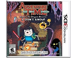 Adventure Time: Explore the dungeon...! 3DS Usado