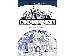 Art of Coloring SW Rogue One (ING) Libro