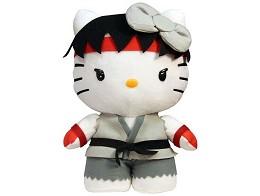 Peluche Hello Kitty Ryu 10'' Deluxe