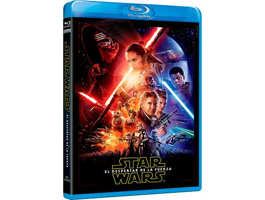 Star Wars El Despertar de la Fuerza Blu-ray latino