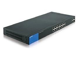 Smart Switch Gigabit 26 puertos Linksys LGS326
