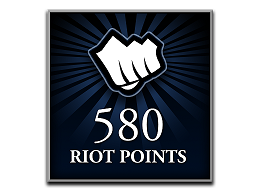 Recarga Riot Points LoL 580 RP (DIGITAL)