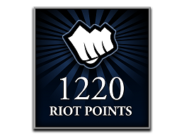 Recarga Riot Points LoL 1220 RP (DIGITAL)