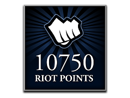 Recarga Riot Points LoL 10750 RP (DIGITAL)