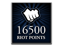 Recarga Riot Points LoL 16500 RP (DIGITAL)