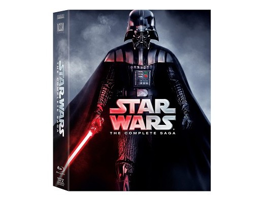 Star Wars: The Complete Saga I - VI Blu-Ray