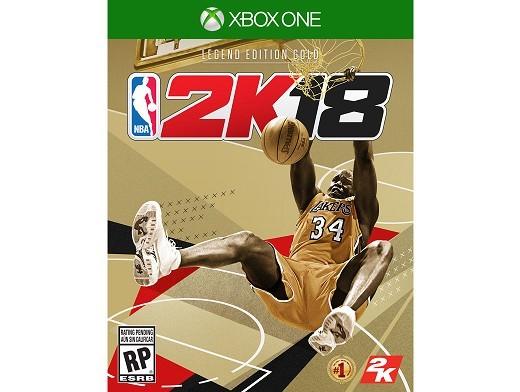 NBA 2K18: Legend Gold Edition XBOX ONE