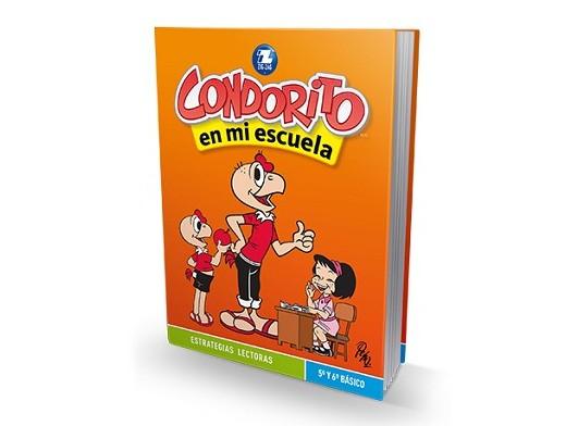 Condorito en mi escuela 5º y 6º básico (ESP) Libro