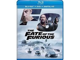 The Fate of the Furious USA Ed Blu-ray