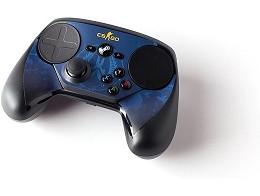 Steam Controller Skin - CSGO Blue Camo