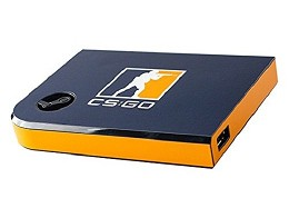 Steam Link Skin - CSGO Blue/Orange