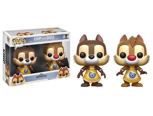 Figura Pop Disney: Kingdom Hearts - Chip & Dale