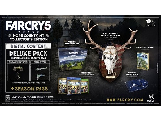 Far Cry 5 Hope County Collector Edition PS4