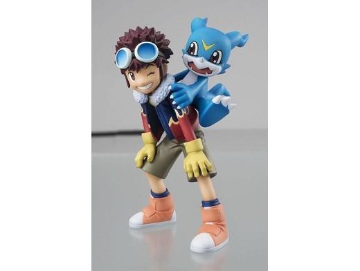 Estatua Motomiya Daisuke & Veemon Digimon Adv 2