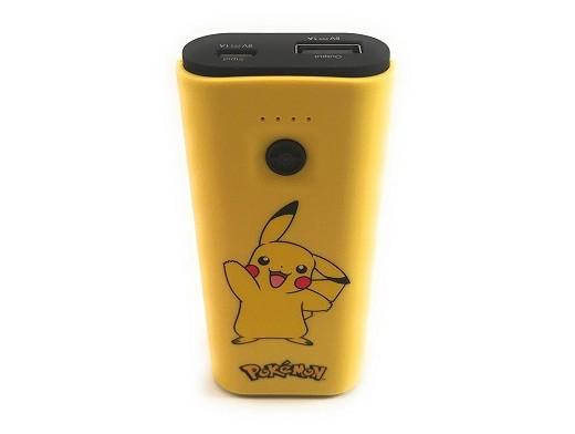 Batería Externa Portátil Pókemon Pikachu