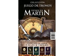 Pack Juego de Tronos 1 a 5 DB (ESP) Libro