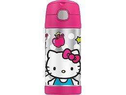 Botella Thermos Funtainer 12oz Hello Kitty