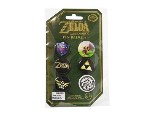 The Legend of Zelda Pin Badges