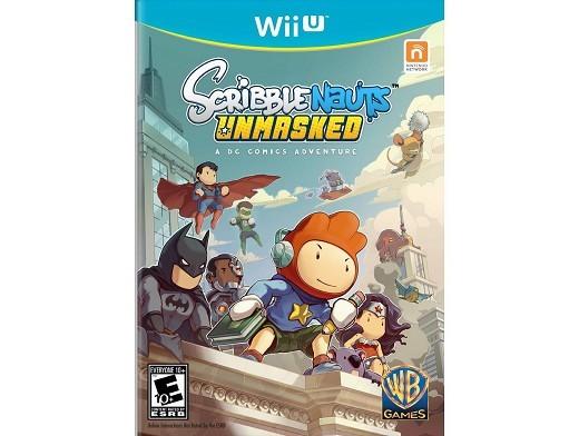 Scribblenauts Unmasked Wii U Usado