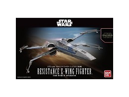 Model Kit Resistance X-Wing Star Wars
