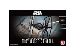 Model Kit First Order Tie Fighter Star Wars
