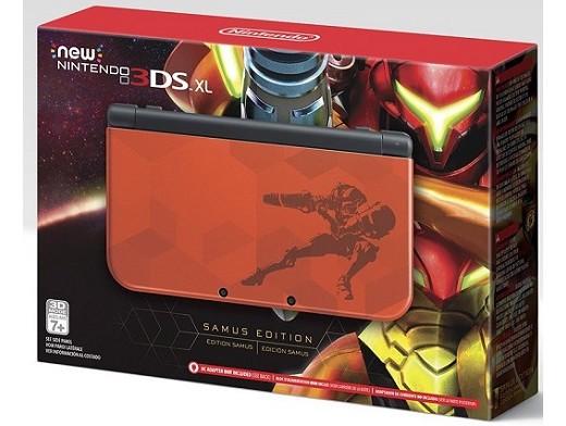 New Nintendo 3DS XL - Samus Edition