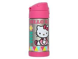 Botella Thermos Funtainer 12oz Hello Kitty Sit