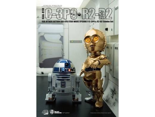 Estatua Egg Attack R2D2 & C3PO