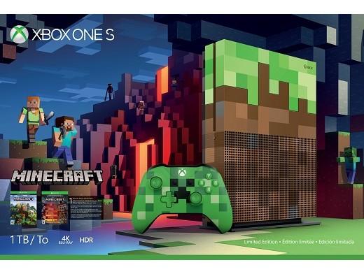 Xbox One S 1TB Minecraft Edición Limitada