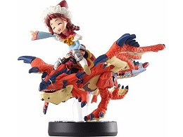 Nintendo amiibo: MHS One-Eyed Rathalos & RiderGirl