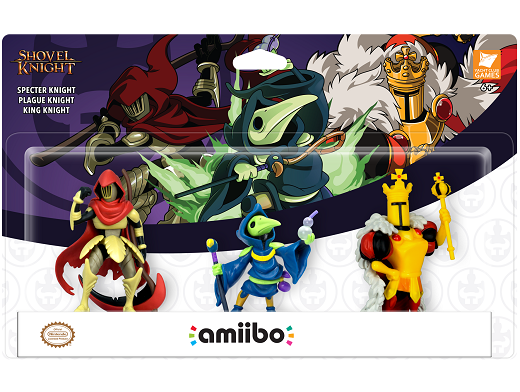 Nintendo amiibo: Shovel Knight 3 Pack