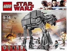 LEGO Star Wars 75189 First Order Heavy Assault Wlk