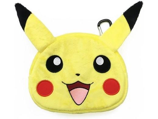 HORI Universal Pikachu Plush Pouch 3DS