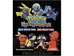 Pokemon: Mystery Dungeon Rescuer Guide (ING) Libro