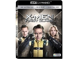 X-Men: First Class 4K Blu-ray